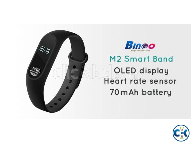 Bingo M2 Smart Band Water-proof intact Box | ClickBD large image 2