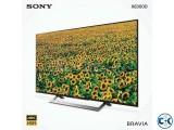 Sony Bravia X7000D 55 Flat 4K UHD Wi-Fi Smart Android TV