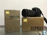 Nikon D750 Nikon 24-70 F2.8