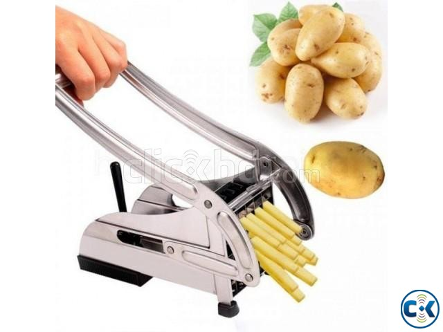 Stainless Steel French Fry Cutter | ClickBD large image 0