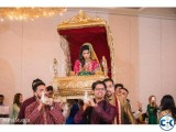 Wedding Palanquin Palki Rental service in Dhaka
