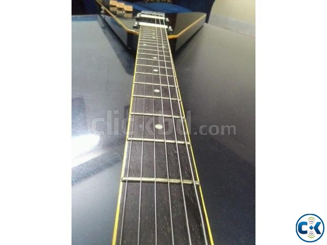 Flying V shape electric custom guitar | ClickBD large image 0