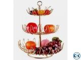 Fruit Basket Metal Hanging Free standing-