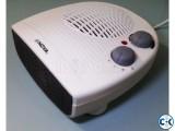 2-in-1 Dasktop Fan Room Heater