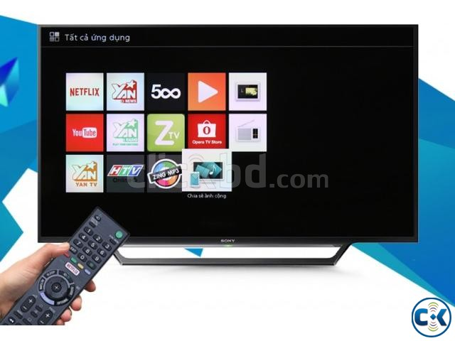 Sony Bravia 40 W652D WiFi Smart Slim FHD LED TV Free Gift | ClickBD large image 1