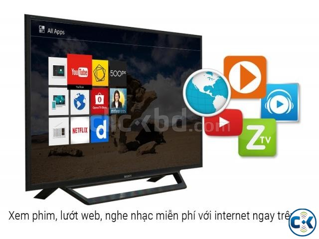 Sony Bravia 40 W652D WiFi Smart Slim FHD LED TV Free Gift | ClickBD large image 2
