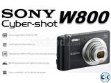 SONY DSCW800/B 20.1 MP Cyber-shot Digital Camera (Black)