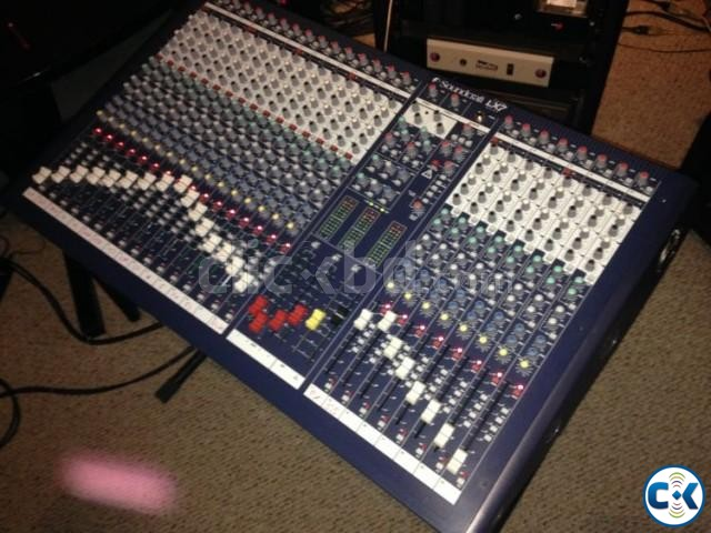 Soundcraft Lx-7-24-6 Brand New. Call-01748-153560 | ClickBD large image 0