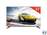 LG 43 Slim LH500T Energy Saving Full HD LED TV Free Gift