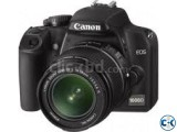 Canon Eos 1000D Dslr Camera With 18-55 Lens
