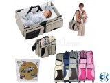 Multi-Function Folding Travel Baby Bed n Bag 2in1