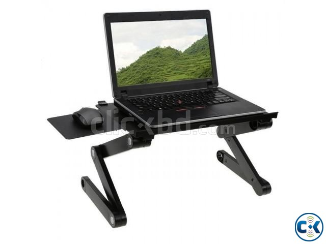 Multi Functional Mobile Laptop Table Stand | ClickBD large image 0