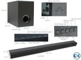 Sony CT380 soundbar speaker has 2.1 channel up to 300W