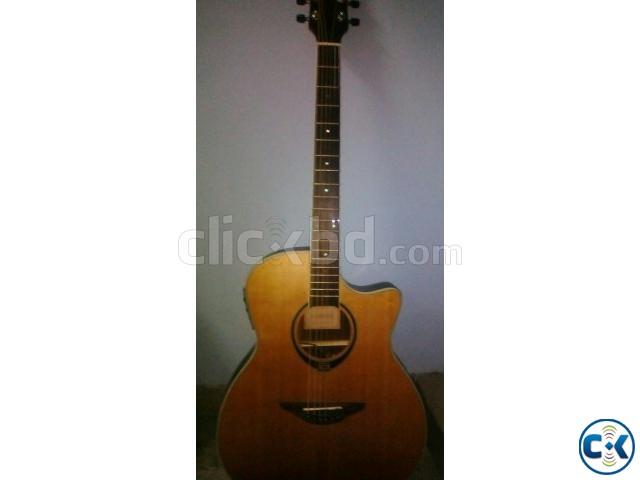 Yamaha Semi Acoustic Guitar | ClickBD large image 0