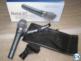 beta shure 87 a condenser mic