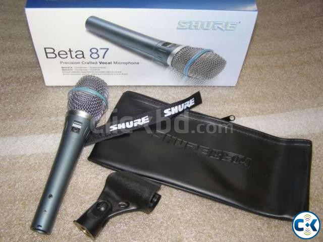 beta shure 87 a condenser mic | ClickBD large image 0