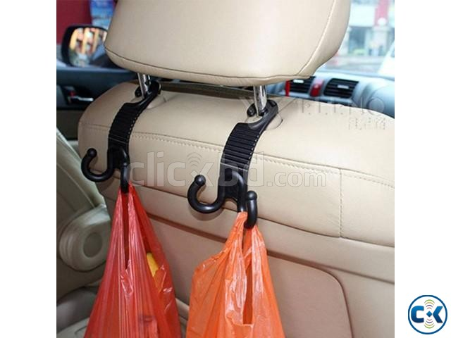 2 Fly Universal Car Seat Hanger Organizer Hook Headrest | ClickBD large image 0
