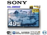 SONY 49 inch W660E BRAVIA LED backlight HDR TV