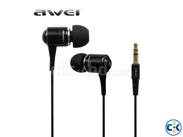 Awei ES-Q3 Super Bass In-ear Earphones Headphone For iPhone | ClickBD large image 0