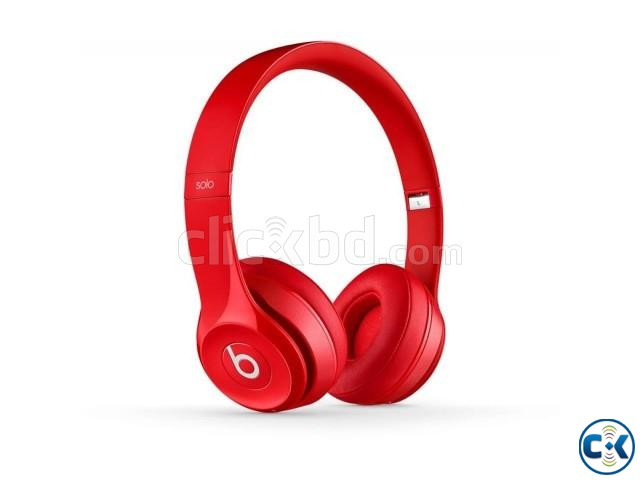 Beats Solo V2 Wired Headphone | ClickBD large image 0