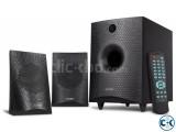 F D F210X 2.1 Multimedia USB FM Bluetooth 4.0 Speaker