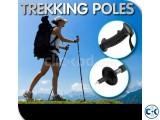 Anti-Shock Hiking Walking Stick Trekking Pole Metal