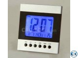 Voice Control Temperature Led Alarm clock Digital Calender