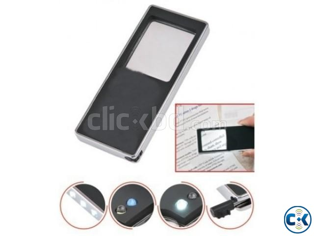 Magnifier Glass with Light n money checker led 3-in-1 | ClickBD large image 4