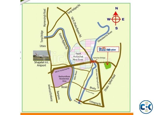 3 KATHA PLOT BESIDE 60 AVENUE ROAD | ClickBD large image 3