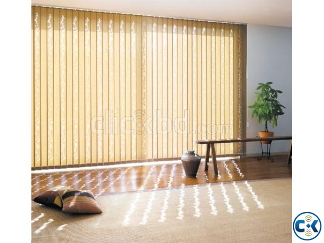 Window curtains Vertical Blinds For Office Home | ClickBD large image 0