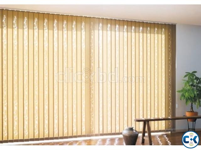 Window curtains Vertical Blinds For Office Home | ClickBD large image 1