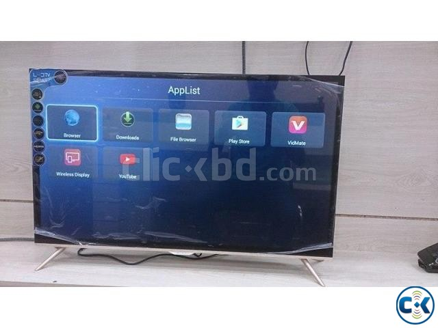 32 SMART GOLD BORDER DOUAL GLASS LED TV | ClickBD large image 0