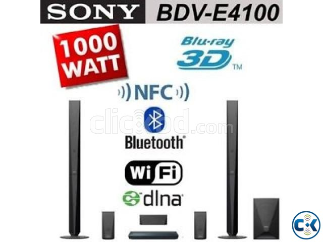 Sony BDV- E4100 5.1-ch 3D Blu-ray home theatre system | ClickBD large image 0