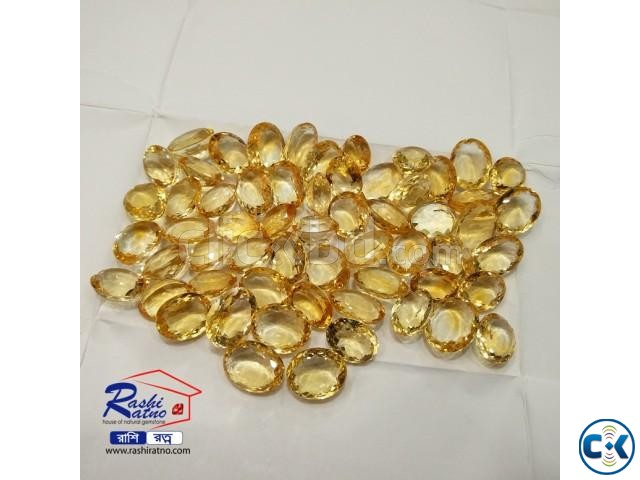Yellow Topaz Stone | ClickBD large image 1