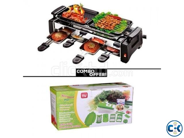 Barbecue Grill Nicer Dicer Plus Combo | ClickBD large image 0
