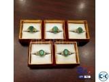 Brazil Panna Stone Rings