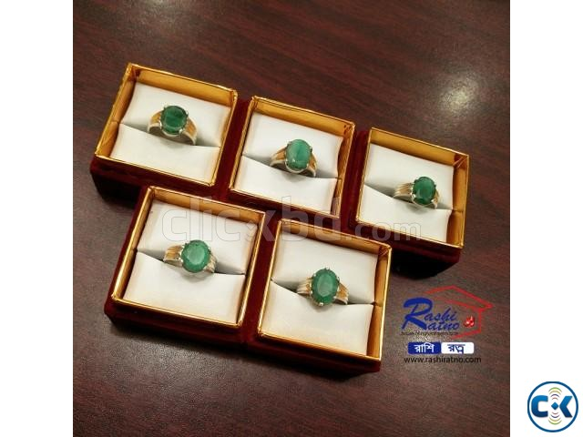 Brazil Panna Stone Rings | ClickBD large image 1