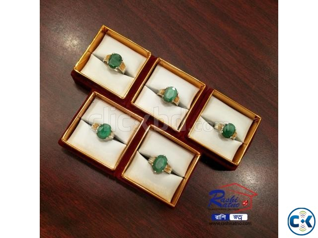 Brazil Panna Stone Rings | ClickBD large image 3