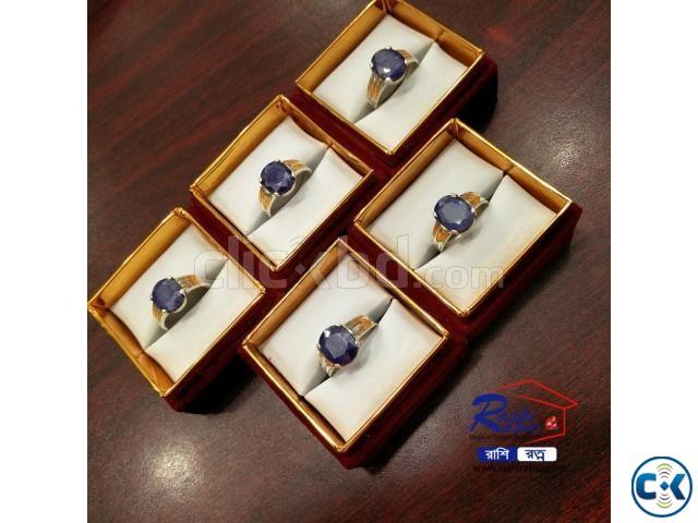 Bangkok Indra Nila Stone Ring | ClickBD large image 0