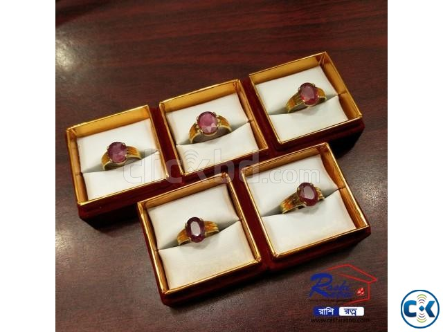 African Ruby Stone Ring | ClickBD large image 0