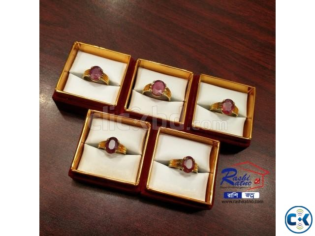 African Ruby Stone Ring | ClickBD large image 2