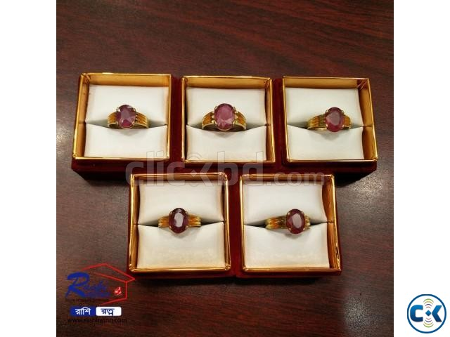 African Ruby Stone Ring | ClickBD large image 4