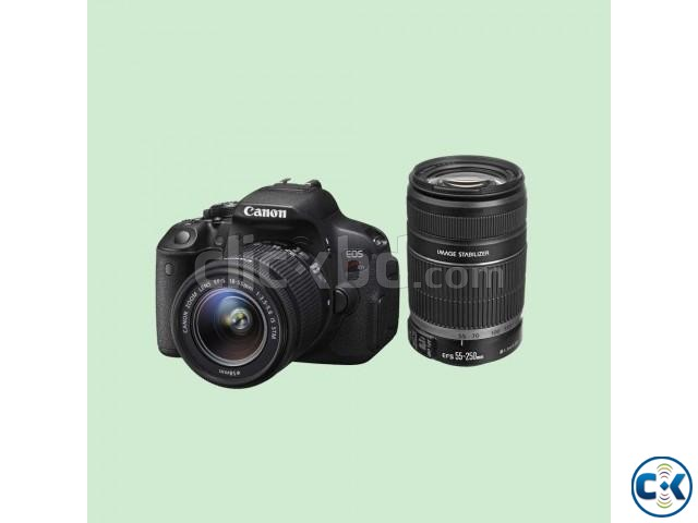 Canon DSLR EOS Kiss X7i With 18-55mm 55-250mm Lens | ClickBD large image 0