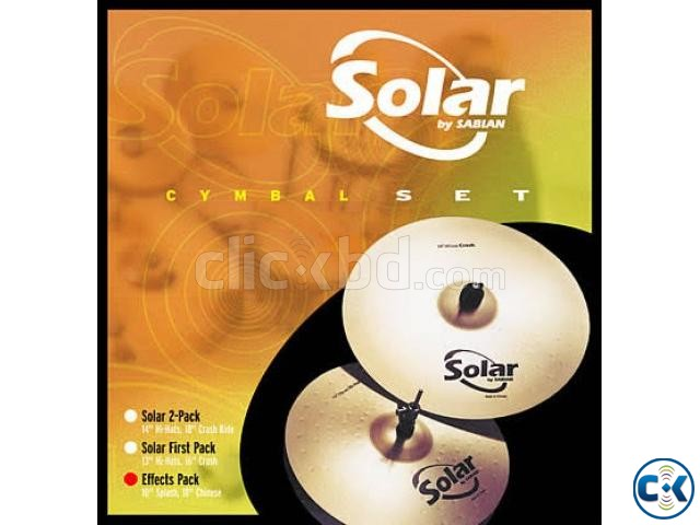 brand new solar by sabian hihet plate | ClickBD large image 0