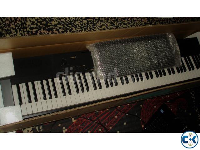 Casio CDP 130 Digital Piano Keyboard | ClickBD large image 0