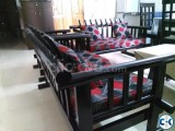 Sofa Set Wooden-5 Seated 2 1
