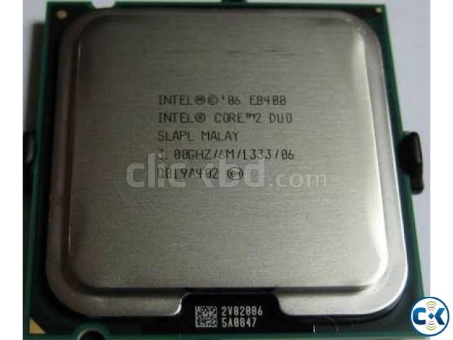 Genuine Intel Core 2 Duo E8400 Gaming Processor