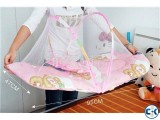 Baby Mosquito net Bed Pillow With Carry Bag Portable