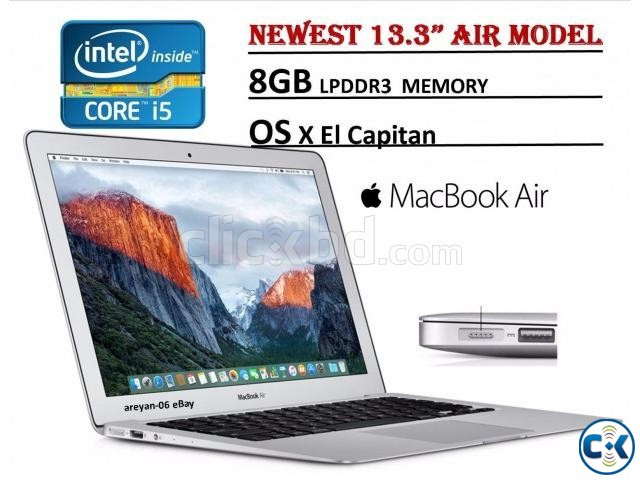 Apple 13.3 A1466 Core i5 8GB RAM 128GB SSD Macbook Air | ClickBD large image 0