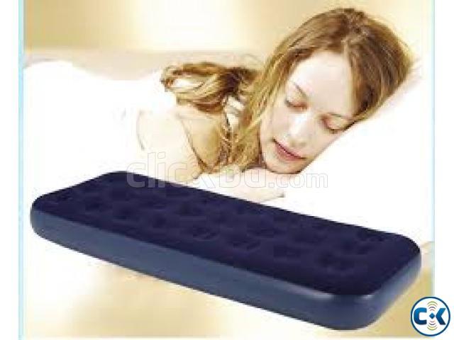 Single air bed intact Box Free Air Pumper | ClickBD large image 0